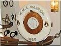 SU6200 : HMS Warrior 1860 - Lifebelt by Colin Smith