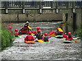TQ1769 : Kingston-upon-Thames - Kayaks by Colin Smith