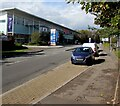ST3486 : NW along Central Avenue, Newport Retail Park by Jaggery