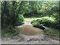 SX8549 : Frog Ford and Clapper Bridge by John Walton
