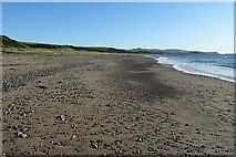NX0985 : Beach at Bennane Lea by Anne Burgess