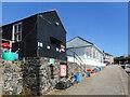 SW6617 : Quayside Buildings, Mullion Cove by Des Blenkinsopp