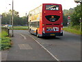 SO5012 : Ross-on-Wye bus in Monmouth by Jaggery