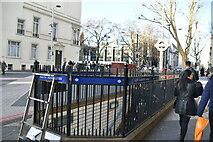 TQ2678 : Entrance to station, South Kensington Station by N Chadwick