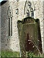 NY8548 : Gravestone, St Peter's Church by Andrew Curtis