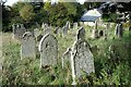 NY8448 : Graveyard, St Peter's Church by Andrew Curtis