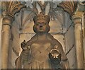 TR1457 : Canterbury Cathedral Gateway - Queen Victoria by Colin Smith