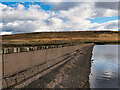SD9823 : Dam Wall, Withens Clough Reservoir by David Dixon