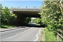 TQ5944 : A21 bridge by N Chadwick