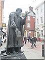 TR1457 : Canterbury - Geoffrey Chaucer by Colin Smith