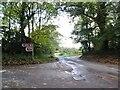 SO8383 : Kingsford Lane Junction by Gordon Griffiths