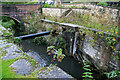 SO8702 : Derelict lock on the Thames and Severn Canal by Chris Allen