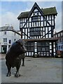 SO5140 : Bull sculpture on High Town by Philip Halling