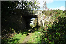 NK0160 : Former Railway Bridge by Anne Burgess