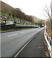 SS9389 : Cemetery Road towards the centre of Ogmore Vale by Jaggery