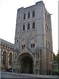 TL8564 : Bury St Edmunds Abbey precincts [8] by Michael Dibb