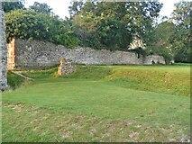TL8564 : Bury St Edmunds Abbey precincts [13] by Michael Dibb