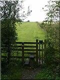 SK7335 : Footpath towards Barnstone by Alan Murray-Rust