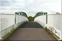 SK6840 : Bridleway bridge over the A46 by Alan Murray-Rust