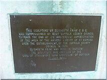 TL8564 : Bury St Edmunds Abbey precincts [26] by Michael Dibb