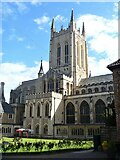 TL8564 : Bury St Edmunds Abbey precincts [38] by Michael Dibb