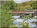 SD7915 : River Irwell, Kay Street Bridge by David Dixon