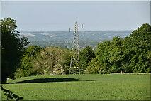 TQ6243 : Pylon, Knowles Bank by N Chadwick