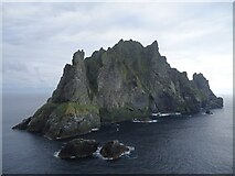NA1505 : Boreray seen from Stac an Armin by Michael Earnshaw