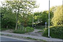 TQ5942 : Footpath off Dowding Way by N Chadwick