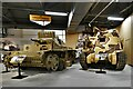 SY8288 : Bovington Tank Museum: Panzer III 'Ausf N' and Grant M3 tanks by Michael Garlick