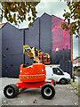 SJ8498 : Cover-up at 31 Thomas Street by David Dixon