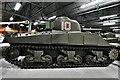 SY8288 : Bovington Tank Museum: Sherman M4A4 tank by Michael Garlick