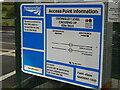 SO9159 : Network Rail access information, Oddingley level crossing by Chris Allen