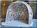 SJ8397 : 50 Windows of Creativity #1. The Centrepiece by David Dixon