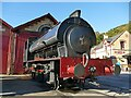 SD3484 : Repulse at Haverthwaite station by Stephen Craven
