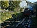 SD3584 : Train entering Haverthwaite station by Stephen Craven