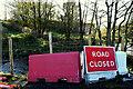H5371 : Road still closed at Bancran by Kenneth  Allen