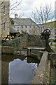 SK1772 : Leat to Cressbrook Mill by Chris Allen