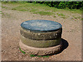 SO8383 : Toposcope on Kinver Edge near Kinver in Staffordshire by Roger  Kidd