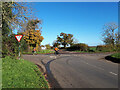 ST8784 : Cyclists turning on to the Fosse Way near Lordswood Farm by Vieve Forward