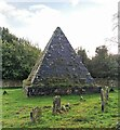 TQ6820 : Jack Fuller's Pyramid in the churchyard of St. Thomas à Becket, Brightling. by PAUL FARMER