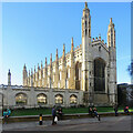 TL4458 : King's College Chapel on a November afternoon by John Sutton