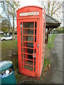 TQ0198 : Red K6 Telephone Box in Chenies by David Hillas