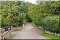 NU1433 : Bridge over Waren Burn by Ian Capper