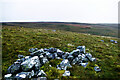 NY8810 : Scattered rocks on Wool Busk by Andy Waddington