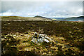 NY3133 : Cairn on Great Lingy Hill by Andy Waddington