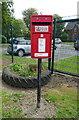 TF2453 : Elizabeth II postbox on Mill Lane, Hundle Houses by JThomas