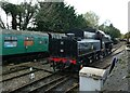 SU5832 : Steam train limbering up for the afternoon at Alresford by Basher Eyre