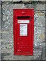 ST3952 : Georgian postbox in Badgworth by Neil Owen