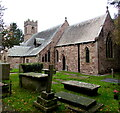 SO4910 : Church of St Michael and All Angels, Mitchel Troy, Monmouthshire by Jaggery